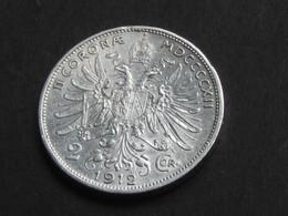 2 Corona 1912  - AUTRICHE - Argent - Silver  **** EN ACHAT IMMEDIAT **** - Autriche