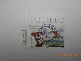 FRANCE 2015 PA  YTN°79    GASTON CAUDRON (1882-1915)   Timbre Neuf Oblitéré  Coin De Feuille - Used Stamps