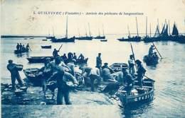 GUILVINEC ARRIVEE DES PECHEURS DE LANGOUSTINES - Guilvinec
