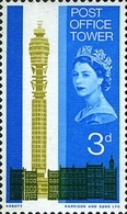 USED  STAMPS Great-Britain - Opening Of The Post Office Tower, London - 1965 - 1952-.... (Elizabeth II)