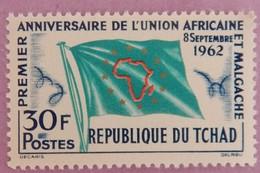 TCHAD ANNEE 1962 YT 82 NEUF* - Tchad (1960-...)