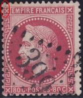 N°32 Position 41A1, Variété Suarnet1, Tache Rose Dans L'angle Nord Ouest, TB Et Pas Courant. - 1863-1870 Napoléon III Lauré