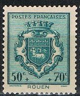 FRANCE : N° 528 ** (Armoiries De Rouen) - PRIX FIXE : 1/3 De La Cote - - - Neufs