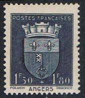 FRANCE : N° 558 ** (Armoiries D'Angers) - PRIX FIXE : 1/3 De La Cote - - Neufs