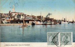 LISBOA - Panorama  E  Caes Da Fundiçao - Lisboa