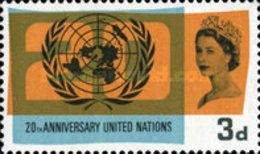 USED  STAMPS Great-Britain - The 20th Anniversary Of The UN And Inter - 1965 - 1952-.... (Elizabeth II)