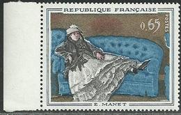 France 1962 - Variété Liseré Blanc - N° Y&T 1364a Neuf ** MNH - Variétés Et Curiosités