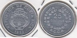 Costa Rica 25 Céntimos 1983 KM#188.3 - Used - Costa Rica