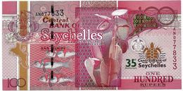 Seychelles P.47 100 Rupees 2013 Unc Commemorative - Seychelles