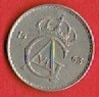 SWEDEN #  50 ØRE FROM 1963 - Suède