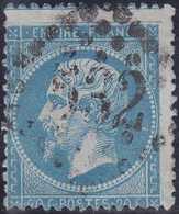 N°22 Très Rare Retouche Complète Dite De Meinhertzagen, Décentrée Comme Toujours, TB Et RRRR. - 1862 Napoléon III