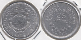 Costa Rica 25 Céntimos 1986 KM#188.3 - Used - Costa Rica