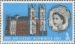 USED  STAMPS Great-Britain - The 900th Anniversary Of Westminster Abbey- 1966 - 1952-.... (Elizabeth II)