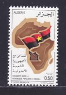 ALGERIE N°  640 ** MNH Neuf Sans Charnière, TB (D8254) Solidarité Avec La République Populaire D'Angola - 1976 - Algérie (1962-...)