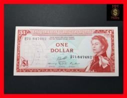 EAST CARIBBEAN 1 Dollar 1965  P. 13  Sig. 10  XF \ AU - East Carribeans