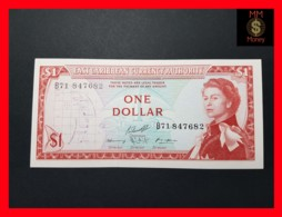 EAST CARIBBEAN 1 Dollar 1965  P. 13  Sig. 10  XF \ AU - Caraïbes Orientales