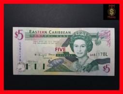 EAST CARIBBEAN 5 Dollars 1994 P. 31 L  St. Lucia   UNC - Caraibi Orientale