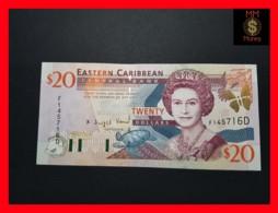 EAST CARIBBEAN 20 Dollars 2001 P. 39 D  Dominica - Caraïbes Orientales