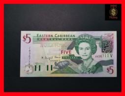 EAST CARIBBEAN 5 Dollars 2003  P. 42 V  St. Vincent  UNC - Caraïbes Orientales