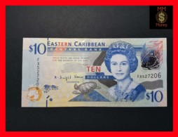 EAST CARIBBEAN 10 Dollars 2012 P. 52   UNC - Caraïbes Orientales
