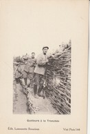 Rare Cpa Guetteurs à La Tranchée - 1914-18