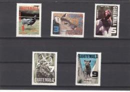 Guatemala Nº A674 Al A678 - Guatemala