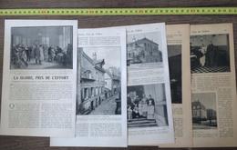 1901 DOCUMENT LA GLOIRE PRIX DE L EFFORT INSTITUT PASTEUR ARBOIS VACCIN DE LA RAGE - Vieux Papiers