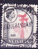 Rhodesien & Nyasaland - Telegrafenleitung (Mi.Nr.: 20 A) 1959 - Gest. Used Obl. - Rhodesia & Nyasaland (1954-1963)