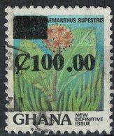 GHANA Oblitéré Used Stamp Fleur Flower Haemanthus Rupestris - Ghana (1957-...)