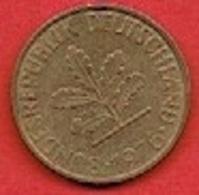 GERMANY #  10 PFENNING FROM 1976 - 10 Pfennig