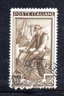 XP2760 - REPUBBLICA 1950 LAVORO Ruota  , 200 Lire N. 652  Usato  Ruota 2 DB  Dent  14 - 6. 1946-.. Repubblica