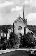 ROSSELANGE  L Eglise Et La Grotte N.d.de Lourdes...edit Pierron  No.148 - Autres Communes