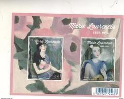 FRANCE  FEUILLE MARIE LAURENCIN  N° F5111 ** LUXE - Blocs & Feuillets