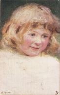 """""""A.J. Elsley. Studies Of Chidhood"""" Lovely Tuk Oilette Connoisseur PC # 2600 - Tuck, Raphael"""