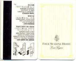Four Seasons Hotel, Las Vegas, Used Magnetic Hotel Room Key Card # Fourseasons-1a - Cartes D'hotel