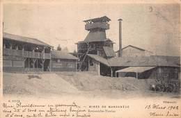 CPA MINES DE MANGANESE - Romanèche-Thorins - 1902 - France