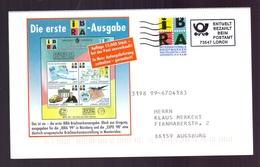 BESTELLKARTE – IBRA 1999 - BARFREIMACHUNG (074-116) - Briefmarkenausstellungen