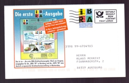 BESTELLKARTE – IBRA 1999 - BARFREIMACHUNG (074-116) - Esposizioni Filateliche