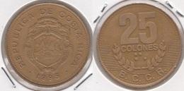 Costa Rica 25 Colones 1995 KM#229 - Used - Costa Rica