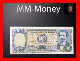 BOLIVIA 500 Pesos Bolivianos D. 1981  P. 166  UNC - Bolivie