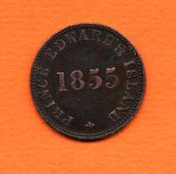 CANADA- ( Prince Edward Island )   Jeton  1855 - Self Government And Free Trade    - Bon état - Canada