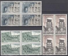 SPANIEN  1578-1580, Postfrisch **, Mint, 4erBlock, Klöster Und Abteien 1965 - 1961-70 Ungebraucht