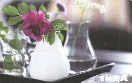 IKEA * FURNITURE STORE * SWEDEN * SWEDISH * FLOWER * PLANT * VASE * Ikea 2010 08 Fr E * France - Gift Cards