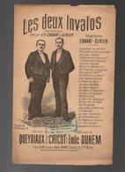 Partition Les Deux Invalos Duo Comique Créé Par M.M. Chavat Et Girier - Autres