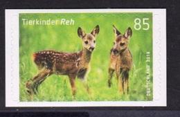 19.- GERMANY 2018 SELF ADHESIVE European Roe Deer (Capreolus Capreolus), - [7] República Federal