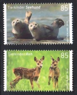 20.- GERMANY 2018 FAUNA - ROE DEER AND HARBOR SEAL - [7] República Federal