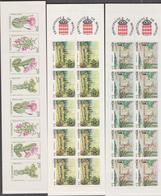 MONACO 3 Carnets Neuf N° YT C7 C8 C9 - 1992 à 1993 - Carnets