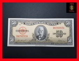 CUBA 50 Pesos 1958  P. 81  UNC - Kuba