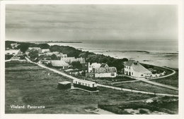 Vlieland 1951; Panorama - Gelopen. (R.E.B.) - Vlieland