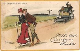 """Lance Tackeray. In Blisful Solitude"" Tuck Comic Sckeches Christmas  PC # 1790 - Tuck, Raphael"